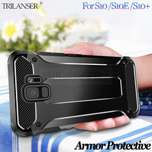 2019 Rubber Armor Case For Samsung Galaxy S10 plus case durable shockproof cover For Samsung S10e S10 case protective luxury стоимость