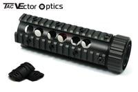 Free Shipping Vector Optics Free Float Handguard Quad Picatinny Rail Mount System Free Rail Cover
