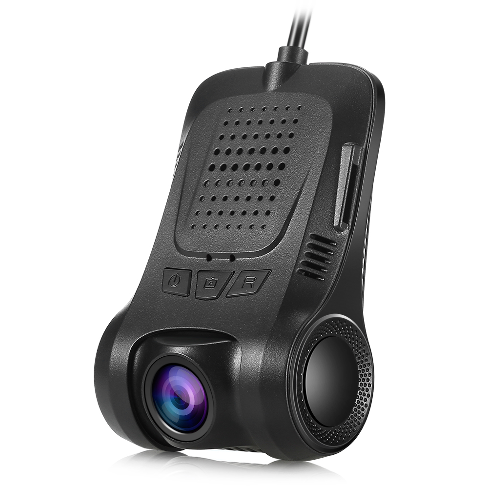 RS300 WiFi Hidden Dash Cam Built-in WiFi Function 170 Degree 1080P HD Resolution WDR Rear View Camera Support Driving Recorder