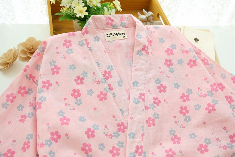 floral cotton pajamas for women