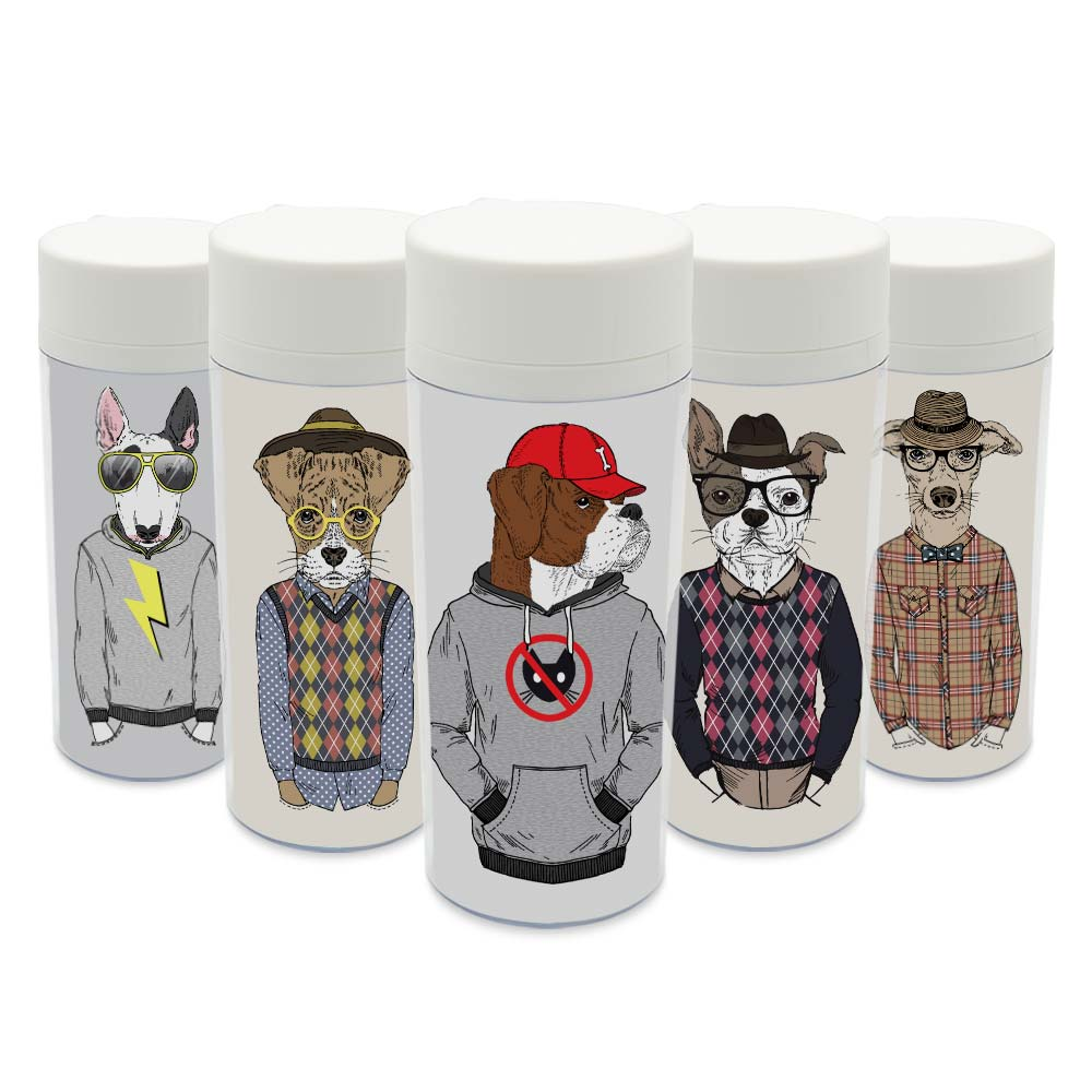 plastic drinkware clear promotionshop for promotional plastic  - clear personalized wide mouth modern drinkware bpa free plastic insulatedfashion abstract animals dog water bottles ml gifts