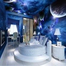 Beibehang пользовательские обои Космос планета полный дом фон Настенная роспись домашний Декор Гостиная Спальня Фреска 3d обои