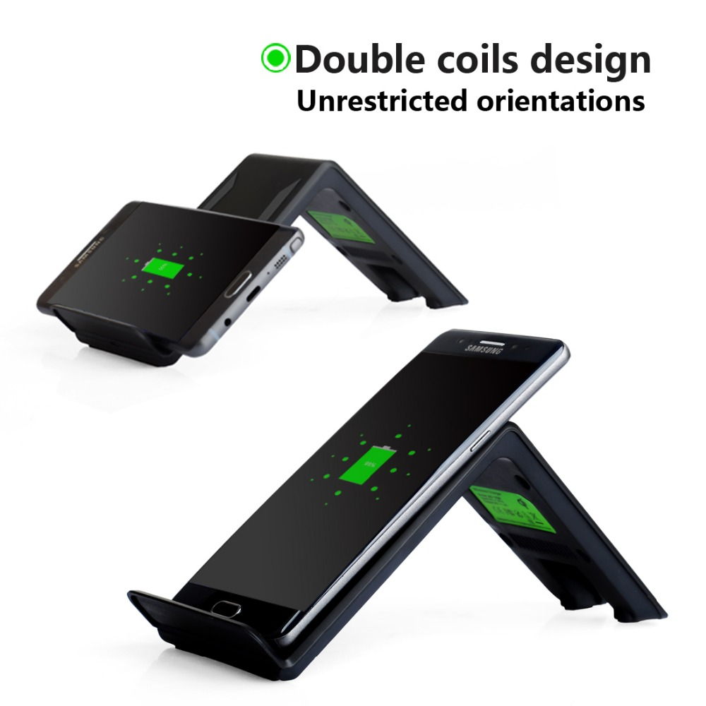 Wireless font b Charger b font Standered Fast Charging for iPhone 8 10X Samsung Galaxy S6