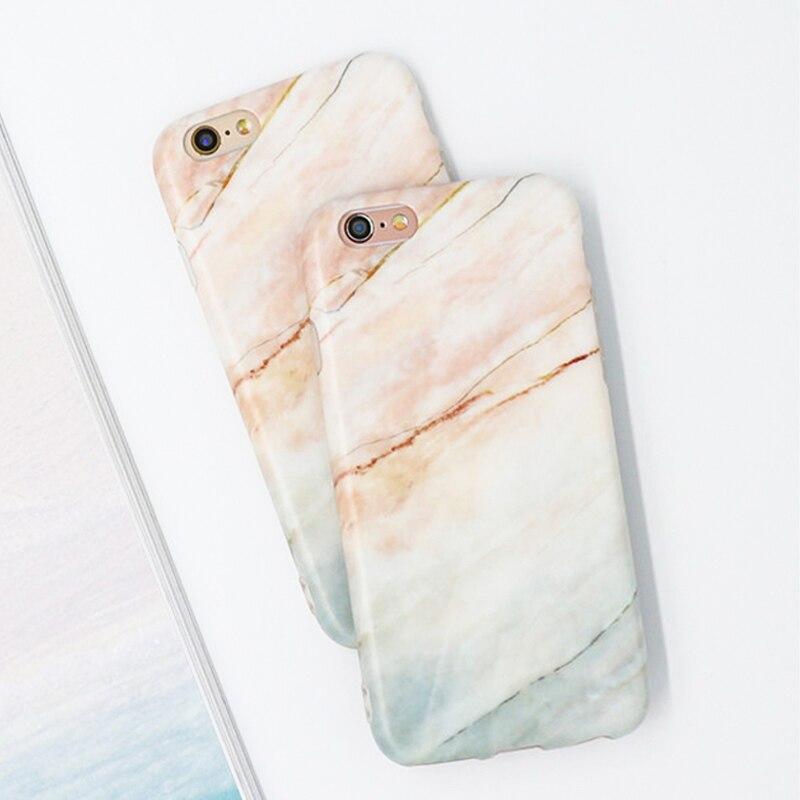Venta caliente de mármol de moda caso para iphone 7 para iphone7 6 6 S/Plus Capa