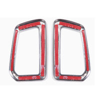2Pcs Dashboard Front Air Outlet Vent Cover Trim Frame For 2015 Discovery Sport Car