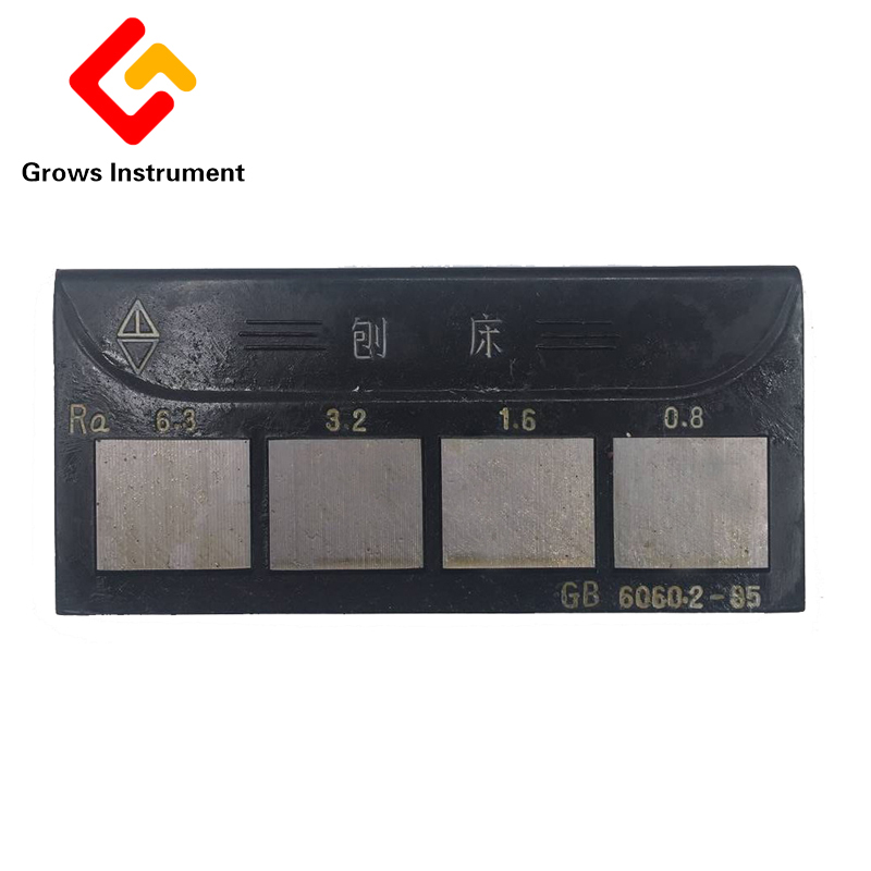 HY 1 Planer Plain Milling Grinding Machines Lathes Surface Roughness Comparison Sample Block Surface Roughness Contrast