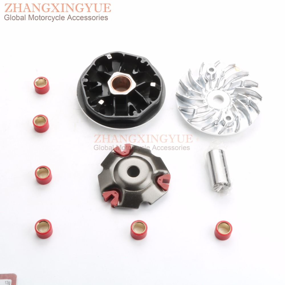 Racing Variator Kit with Roller Weights for HONDA PCX125 WW125 7G 11G 13G 16.5GRacing Variator Kit with Roller Weights for HONDA PCX125 WW125 7G 11G 13G 16.5G