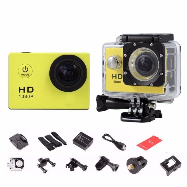 2017 Goldfox Brand Outdoor Sport 720P HD Mini Cameras 30M Diving Waterproof Bike Helmet Cam Sport DV Drop shipping Wholesale