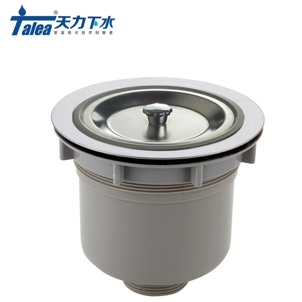 Talea 140mm Stainless Steel Kitchen Sink Strainer basket filter for sink waster Drain Strainer prevent sink garbage