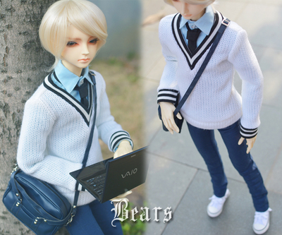 1/3 1/4 scale BJD clothes College style set doll accessories for BJD/SD.Not included doll,shoes and other accessories NO0553 1 3rd scale 65cm bjd nude doll bazael bjd sd doll boy with face up not included clothes wig shoes and accessories