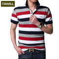 TAWILL Brand 2017 New Letters Strip Polo Shirt Men Short Casual Cotton Polo Shirt Red Gray Green Asian Size M-5XL 3215