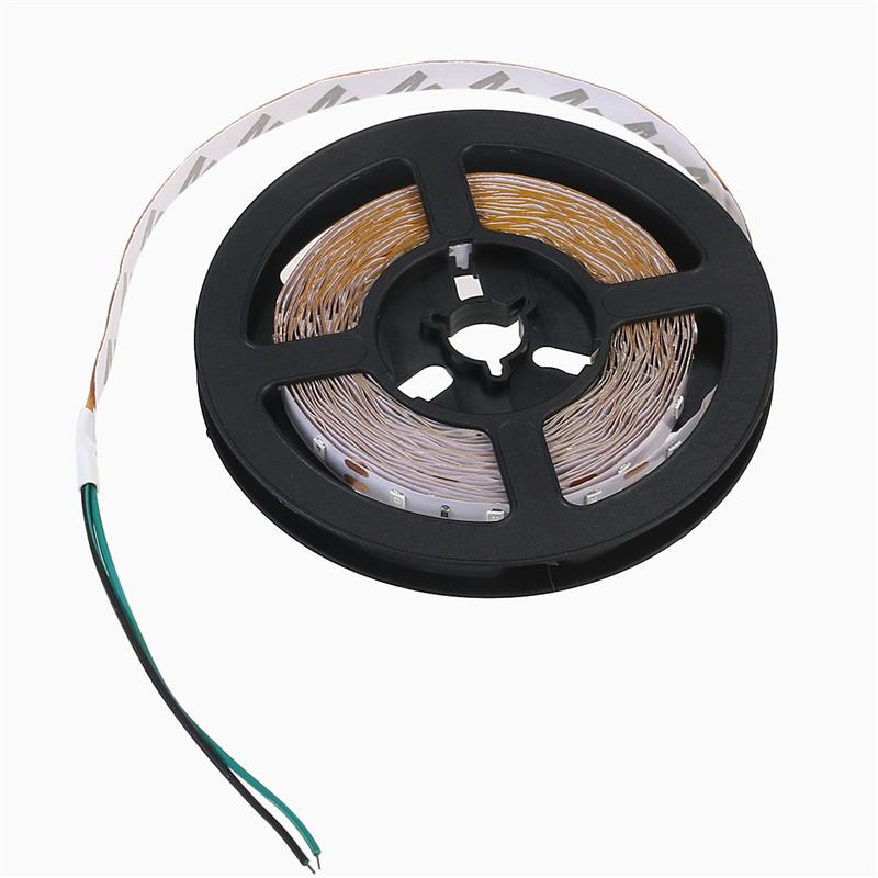 5m LED Strip Light 12V 300LEDs Waterproof Garland Gaskets SMD 2835 LED Tape Light LED Ribbon Christmas Party Wire Tape