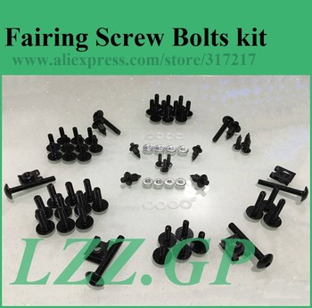 Full set Fairing bolts kit screws for SUZUKI GSX750/600F 1997-2005 GSX600F GSX750F 97-05 fairing screw bolts LZZ.GP image