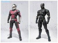 Ant Man Action Figure Superhero Civil War Ant Man Black Panther S.H.Figuarts PVC Figure Toy 170mm Movie Collectible Model Doll