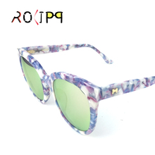 купить Rolipp M0620 Acetate Full-Rim frame Polaroid lenses sunglasses UV400 Women дешево