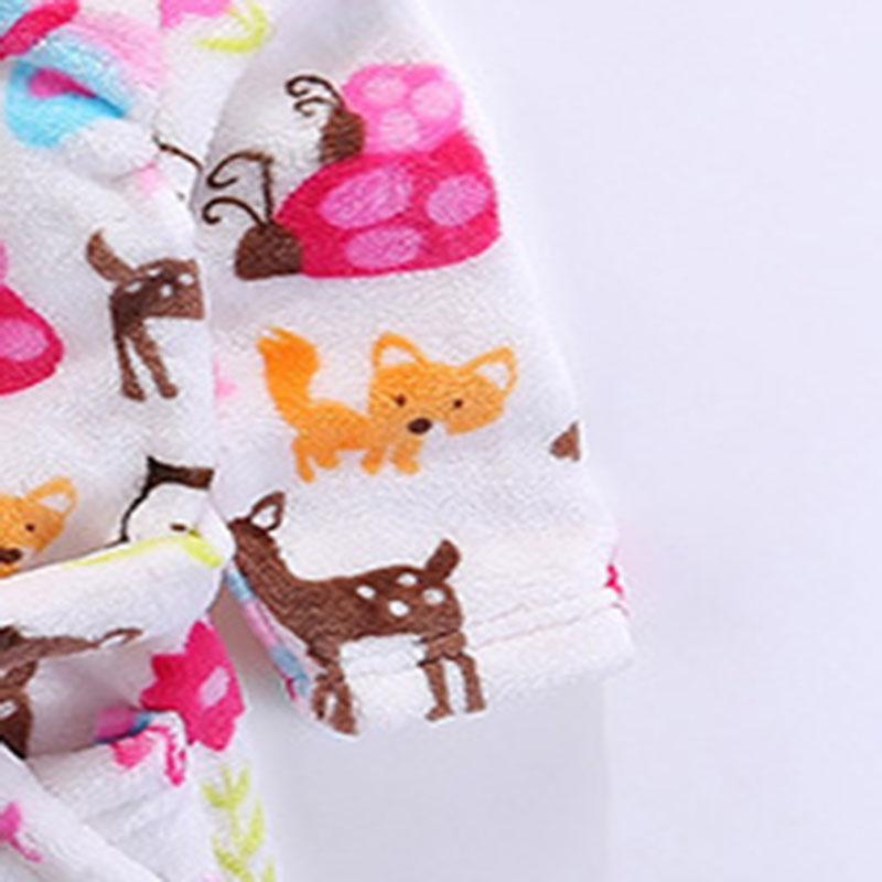 Kinderbadjas Flanellen badjas Kinderkleding na het slapen en - Kinderkleding - Foto 5