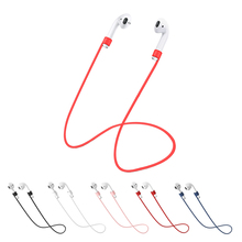 Per Apple Airpods 2 Cinghia Auricolare Accessori Anti Perso Cuffia Cinghia per Apple Auricolari in Silicone Stringa di Corda per Aria baccelli