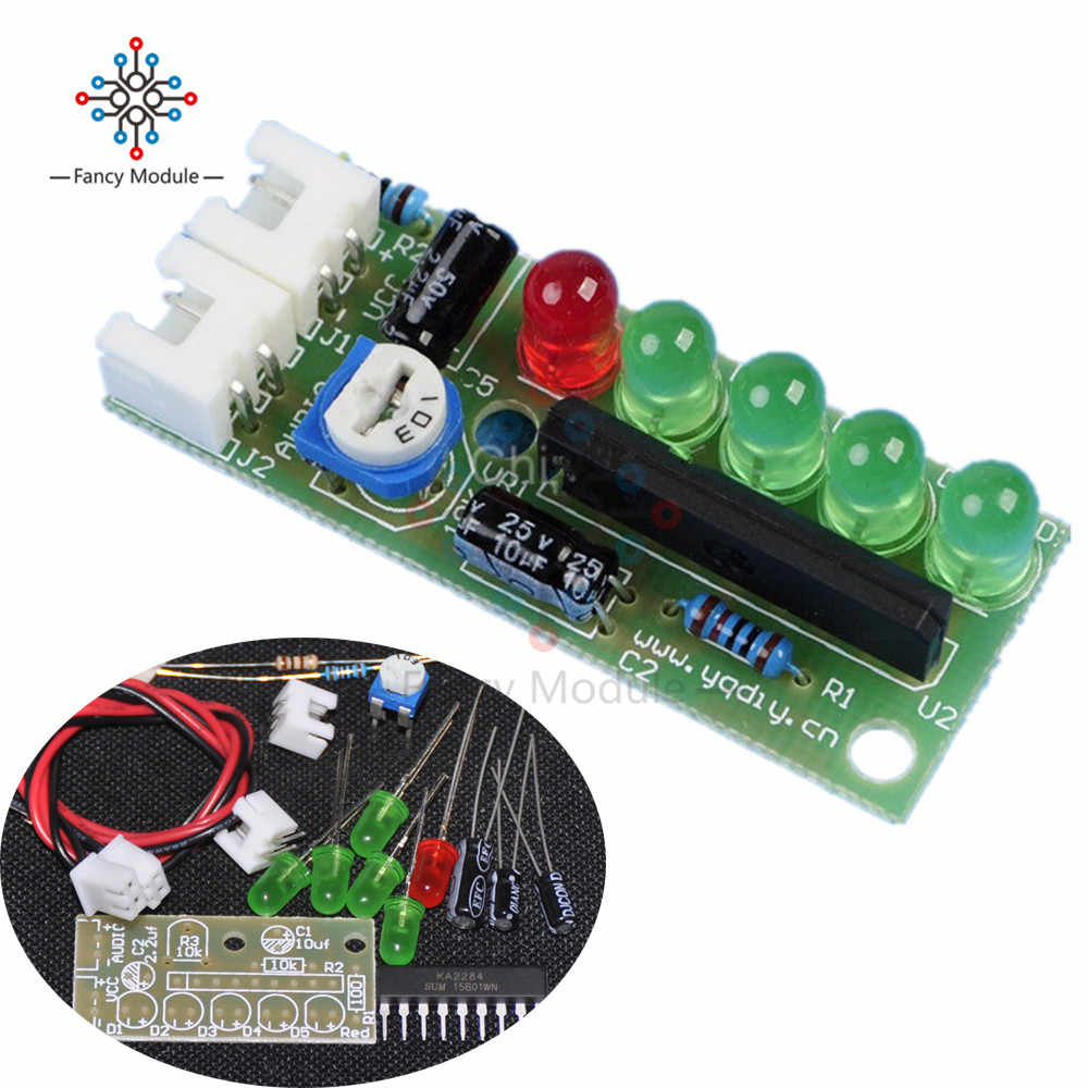 KA2284 indicateur de niveau Audio ensemble indicateur de niveau LED Kit de bricolage pour Arduino