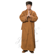 Meditazione zen shaolin intrattenimento musiche e canzoni degli uomini  cinese tradizionale abbigliamento per le donne monaco cos. b028c1819ef