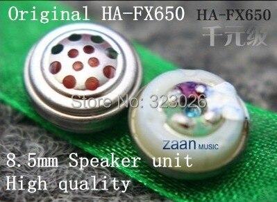 8.5 Mm Ear Unit Originele Ha-fx650 Luidspreker Unit 8.5mm Speaker Unit 1 Paar = 2 Stks Wees Onthouden In Geldzaken