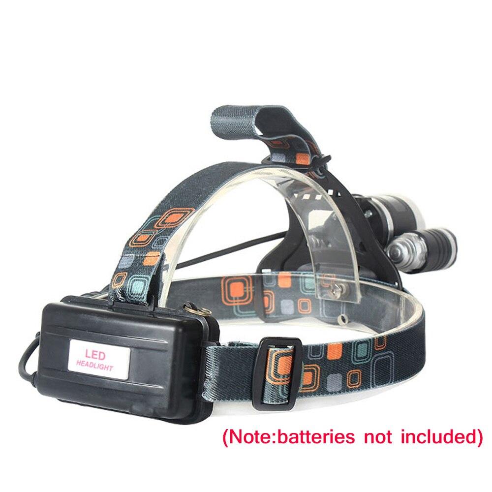 Led Spotlight Headlamp: HOT 4 Modes 6000LM LED Headlamp T6 2R5 LED Rechargeable