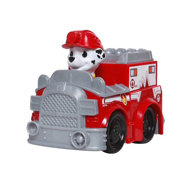 Puppy Patrol Action Figures Model Toy