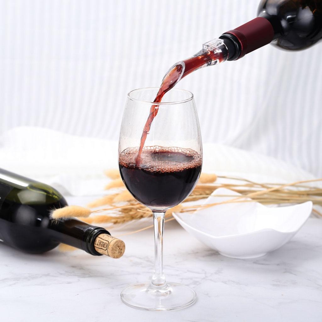 1 Pc Acryl Beluchten Schenker Decanter Wijn Beluchter Tuit Pourer Nieuwe Draagbare Wijn Beluchter Schenker Wijn Accessoires Voor Wijn Liefhebbers