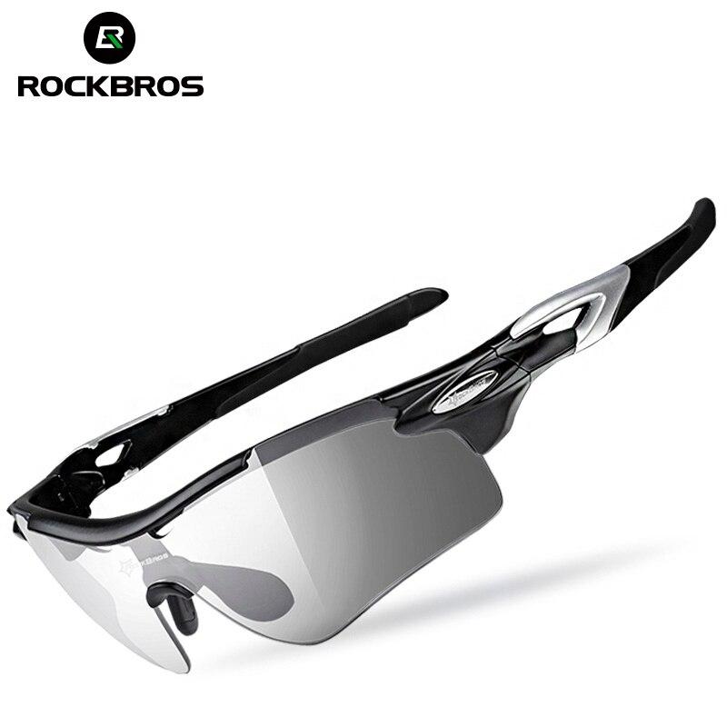 a8a2bdabb6 ROCKBROS los polarizado fotocromáticos gafas ciclismo bicicleta gafas  deportes al aire libre de bicicletas gafas de
