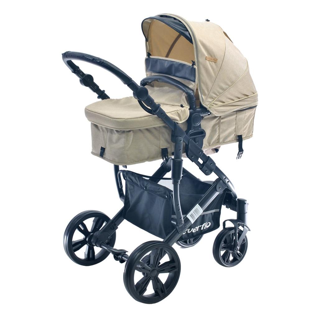 Four Wheels Stroller Everflo E-490 stroll baby  for boys and girls children strollers 2 in 1 walk transformer  Chocolate four wheels stroller babyhit favorite 2 2 in 1 kidstravel