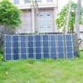 120 W Cargador Móvil Solar Plegable Paquete, cargador portable del panel solar, el panel solar