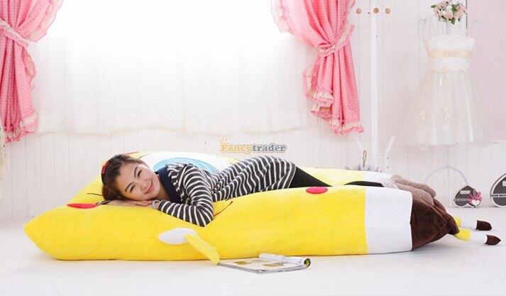 Fancytrader belle mignon bob l'éponge en peluche canapé-lit grand bob l'éponge jouet coussin tapis Tatami tapis prix usine - 3