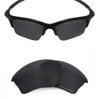 Mryok+ POLARIZED Resist SeaWater Replacement Lenses for Oakley Half Jacket XLJ Sunglasses Stealth Black