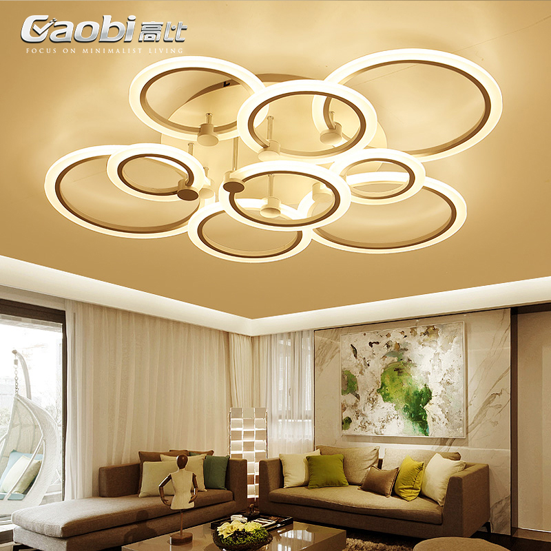 Modern Novelty LED living room ceiling lamps simple Acrylic ceiling lights creative bedroom fixtures diningroom ceiling lighting все цены