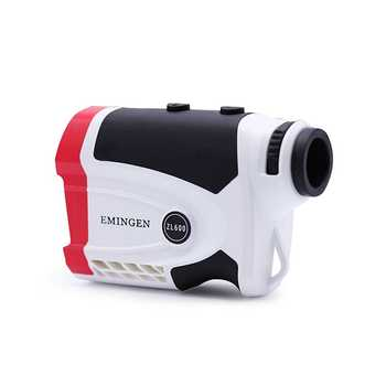 6X Outdoor Golf Multi-Function Preeise Electronic Ruler Angle Height Measuring 600m 1500m Laser Range Finder Ranging Telescope