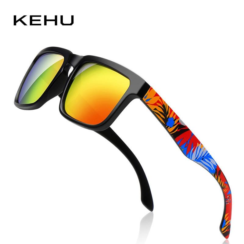 KEHU Men Square Polarized Sunglasses Brand Polarized Eyeglasses - Accesorios para la ropa - foto 2