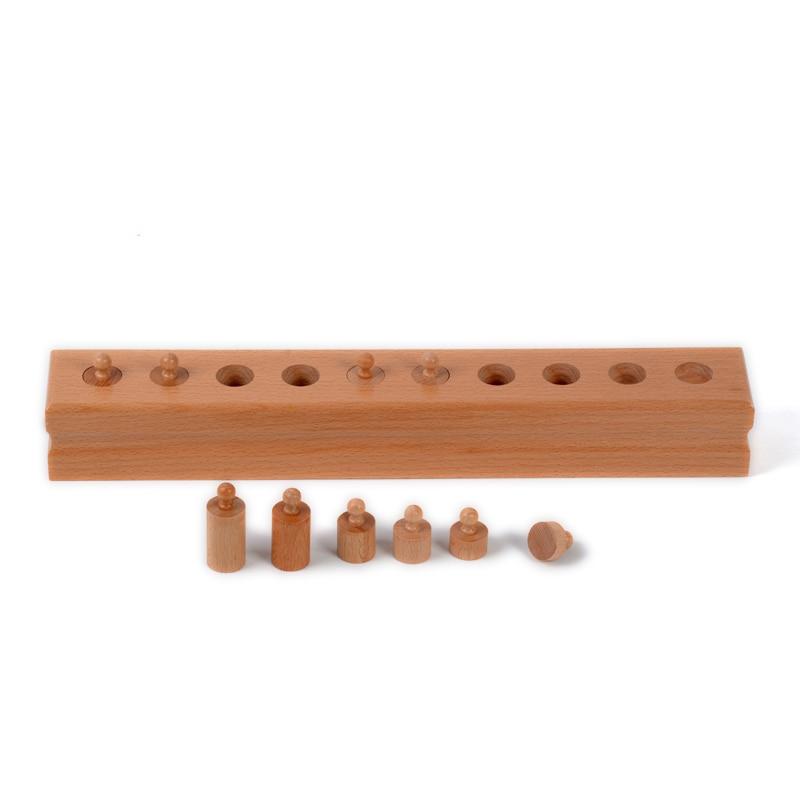 Bébé Jouet Montessori Monocylindre 4 Sensorielle Formation Préscolaire Éducation de la Petite Enfance Brinquedos Juguetes - 4
