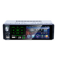 RDS Car Radios 4.1 Touch Screen Multimedia MP5 Player Auto Stereo Radio Bluetooth Support Micophone and Rear View Camera