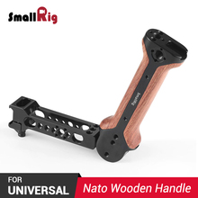 SmallRig DSLR Camera Handgrip for DJI Ronin S / for Zhiyun Crane 2 / for Moza Air 2 Gimbal BSS2340 Wooden Camera Handle цена