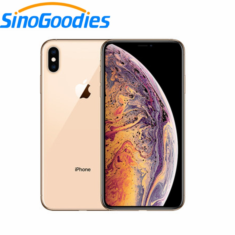 New Apple IPhone XS Max 6.5 Inch OLED Display 4G LTE Original Smart Phone 4gb RAM 64gb/256gb/512gb ROM A12 IOS12 Smartphone