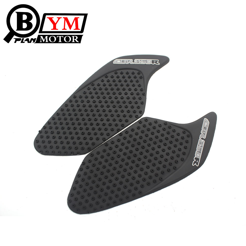 Possbay Motorcycle Anti Slip Stickers Tank Traction Pad Side Gas Knee Grip Protector For Honda Cbr1000rr 2008-2011 Decals & Stickers