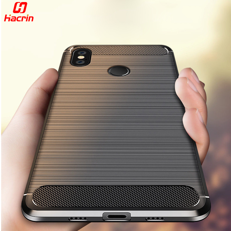reputable site 95187 041a1 Xiaomi Redmi Note 5 Pro Case Carbon Fiber Brushed Pattern Rugged Protective  Back Cover TPU Silicone Case For Redmi Note5 Prime