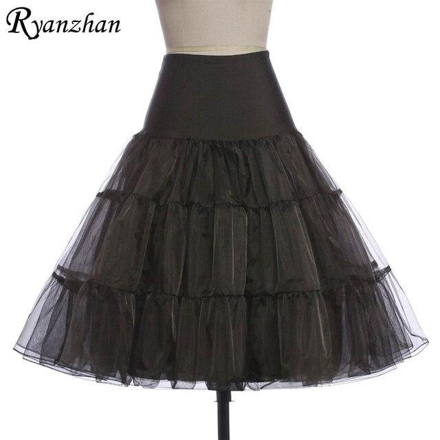 d36a750128 Tutu falda swing rockabilly silps pettiskirt mullido crinolina enaguas de  la enagua para la boda nupcial