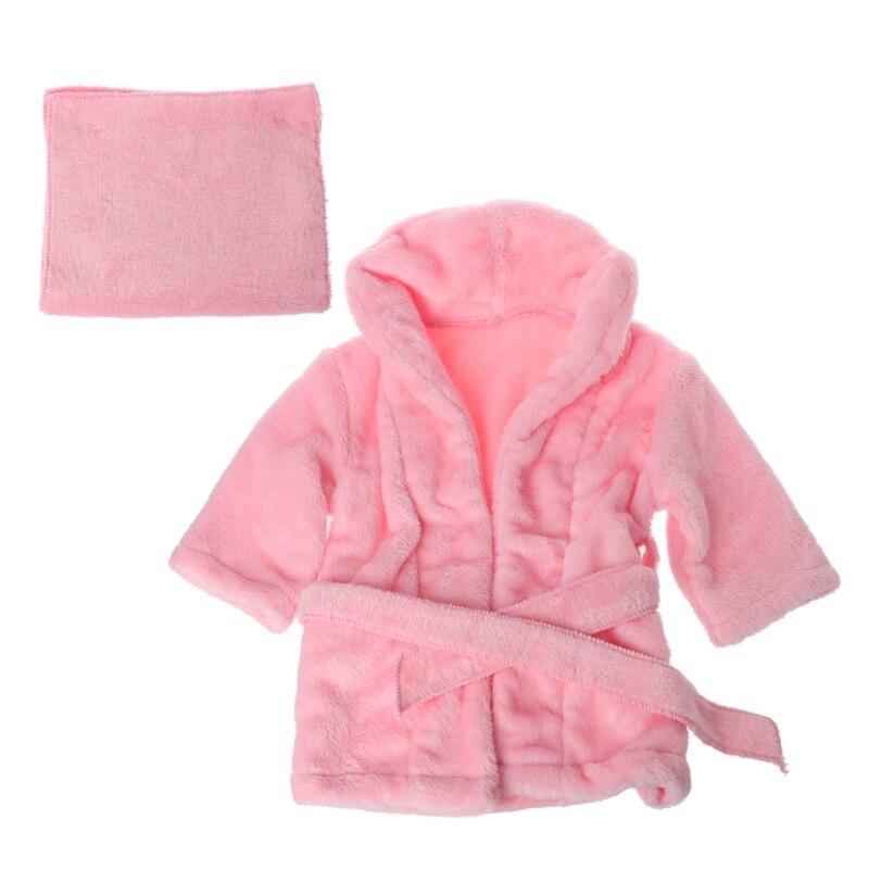 1 bademäntel Wrap Neugeborenen Fotografie Requisiten Baby Foto Schießen Zubehör Baby Bademantel Baby Handtuch 2 Farben 2 Größen