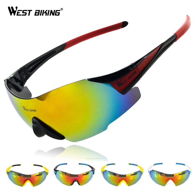 WEST BIKING Cycling SunGlasses Bicycle Goggles Bike Glasses Running Driving Ski Eyewear Oculos Ciclismo Cycling Sport Sunglasses