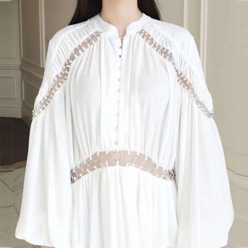 Aditif.co.in V Bitcoin ネック女性のドレスエレガントなファッション 6