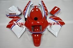 Bodywork for RD500 1985 Body Kits for Yamaha RZV500 85 White Red Racing Fairings RD 500 LC 85
