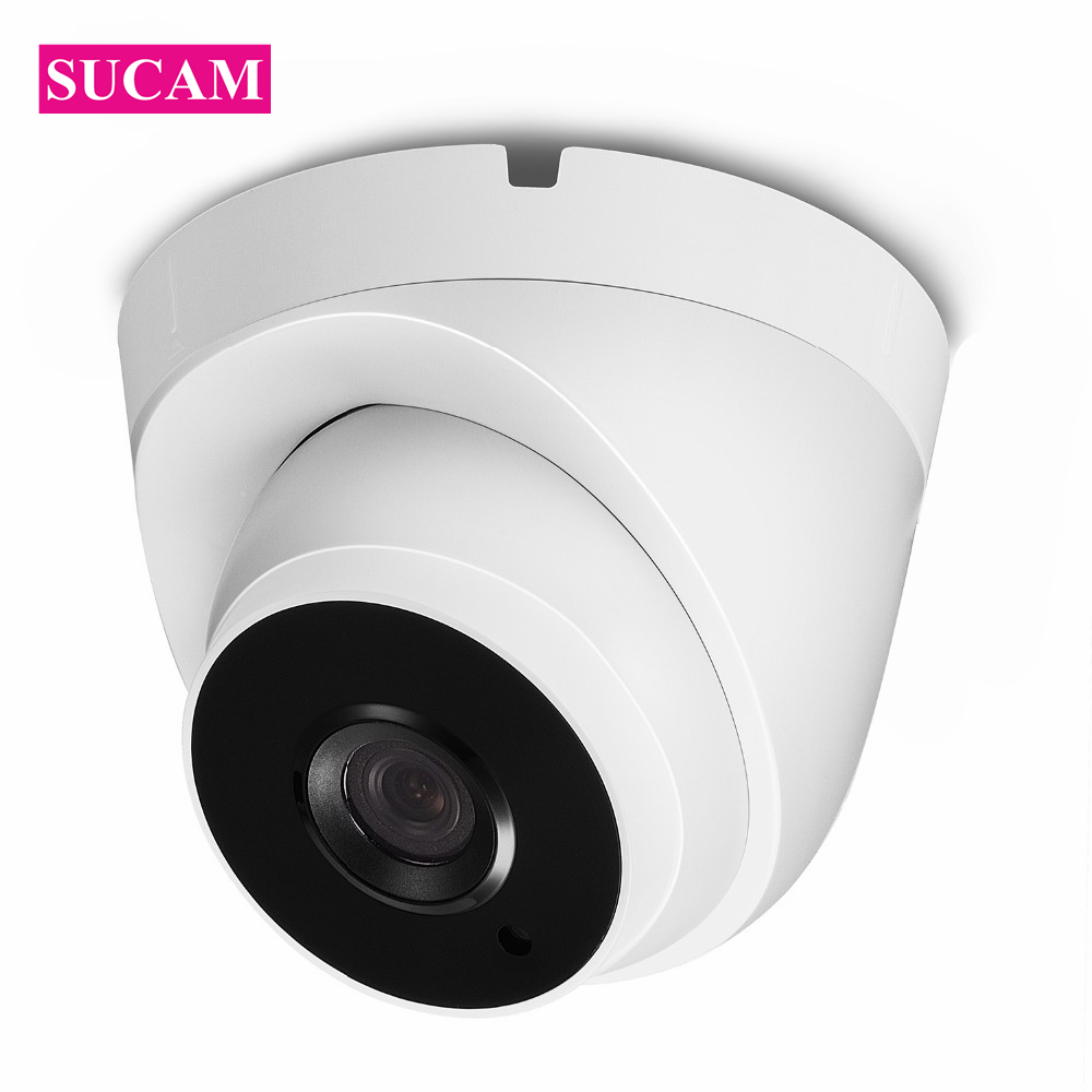 SUCAM 2MP IP Mini Camera Indoor 20 Meters Infrared CMOS Wired 1080P Video Surveillance Security CCTV Camera with IR Cut Filter smar home security 1000tvl surveillance camera 36 ir infrared leds with 3 6mm wide lens built in ir cut filter