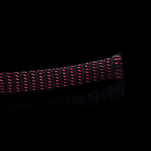 Image 2 - 5M Red/black HIFI Power Audio Cable Sleeving Braided PET Copper Shield 16mm tube sleeves