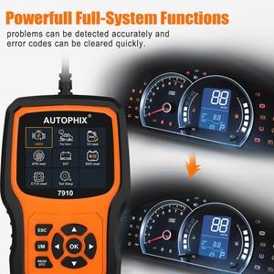 Image 4 - Autophix 7910 Professional OBD2 Automotive Scanner For E46 E90 E60 E39 DPF TPMS SAS Oil Reset Full System OBDII Diagnostic Tool