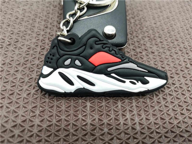 Belababy Dễ Thương Mini Silicone Boot 700 Giày Móc Khóa Móc Khóa Bóng Rổ Giày Sneaker Phụ Kiện Móc Khóa Dành Cho Người Phụ Nữ Nam Trẻ Em